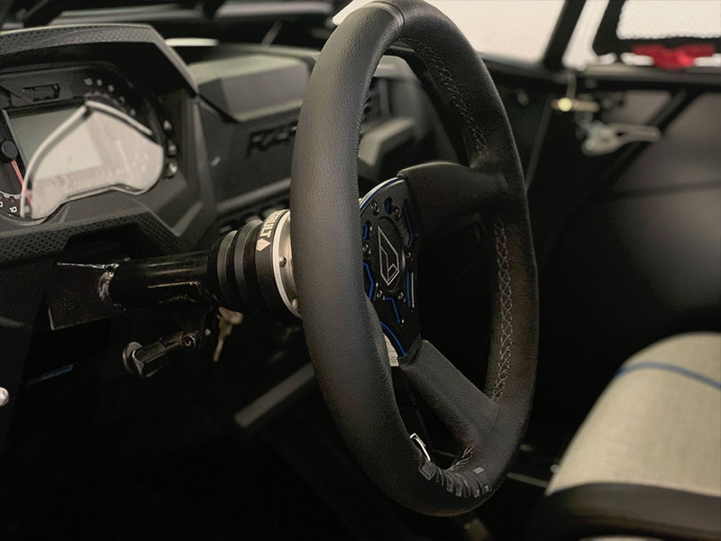 Assault Industries Steering Wheel Installed