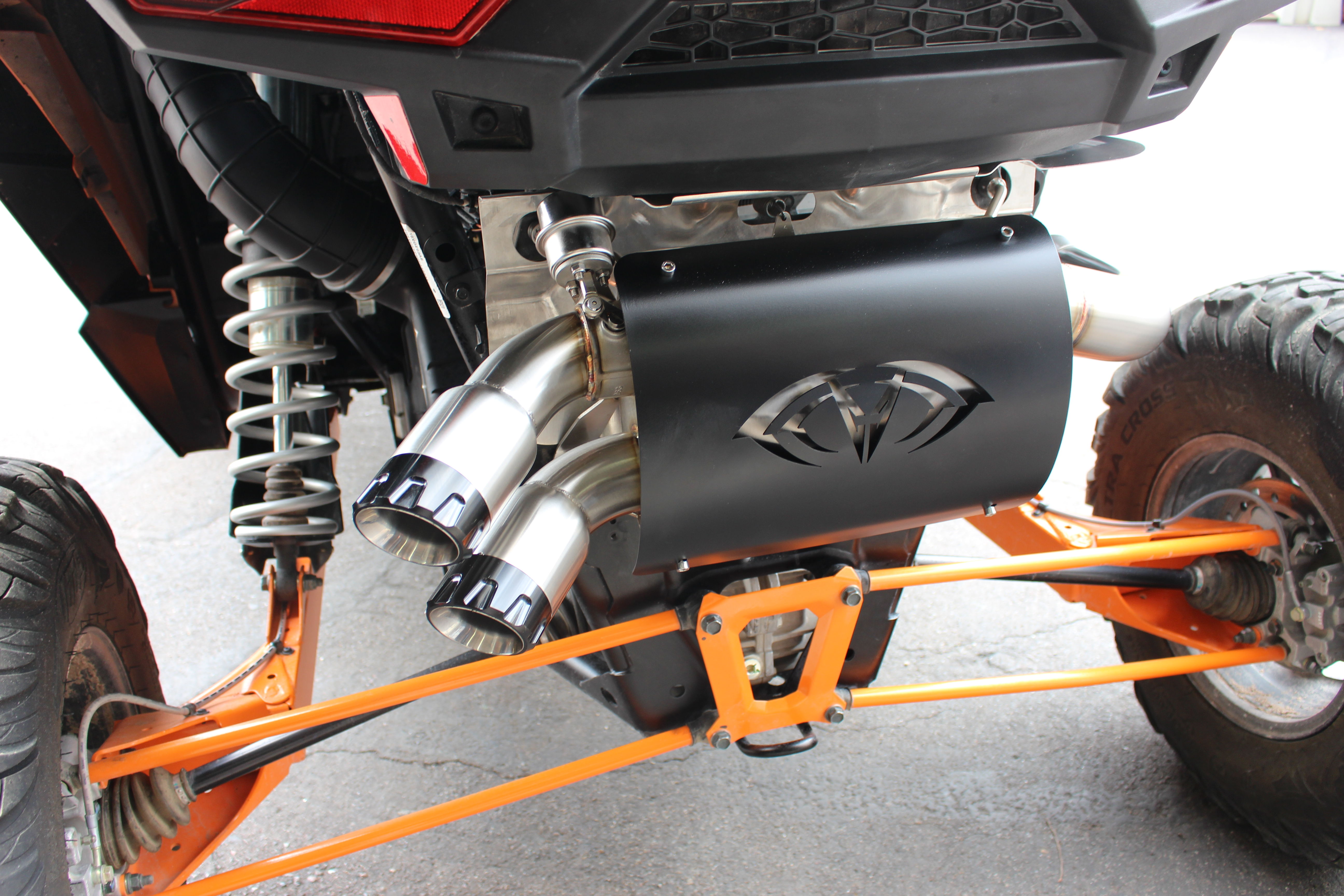 "Evo RZR XP Turbo ""Captain's Choice"" Slip On Cut Out Exhaust"