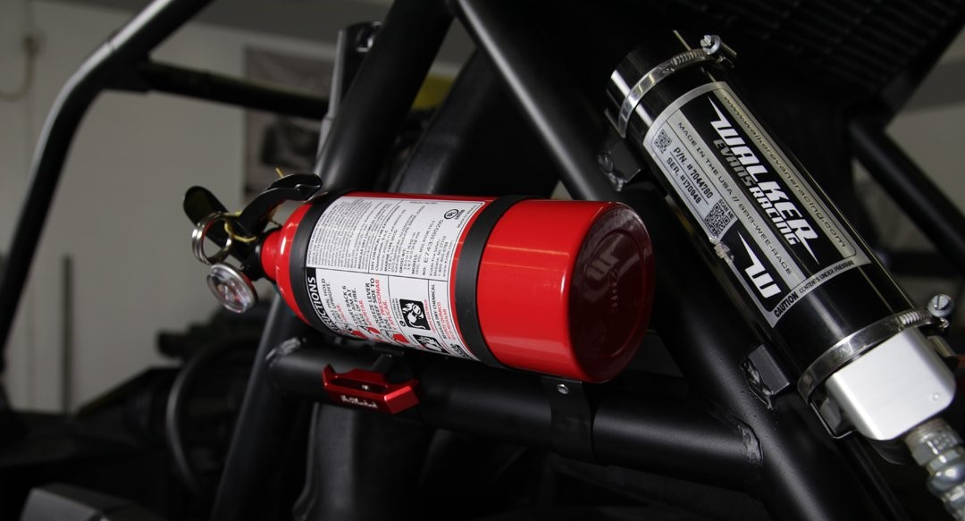 Assault Industries Quick Release Fire Extinguisher Mount