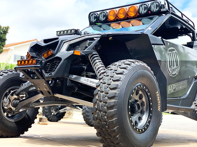 Can-Am X3 Bullet Proof Front End - UTV Source