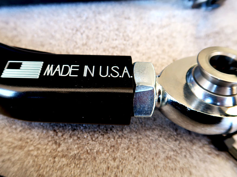 ZRP Radius Rod End - Made In USA